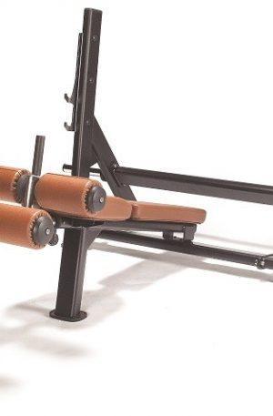 Banc de musculation décliné avec porte haltère Lexco modèle LS-209