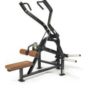 Machine de musculation Plate Loaded Lat Pulldown Lexco / modèle LS-511