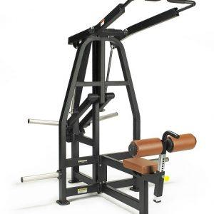 Machine de musculation Plate Loaded Rear Pull Down Lexco / modèle LS-512