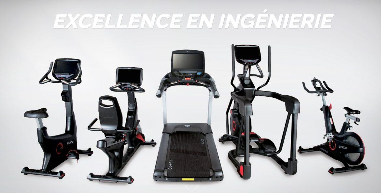 appareils de fitness Lexco